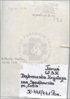 Dąbrowska Krystyna