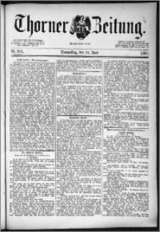 Thorner Zeitung 1890, Nr. 140