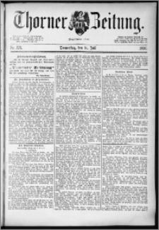 Thorner Zeitung 1890, Nr. 176