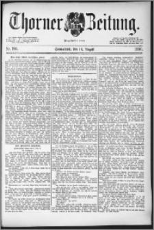 Thorner Zeitung 1890, Nr. 190