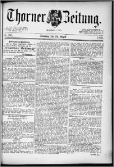 Thorner Zeitung 1890, Nr. 197