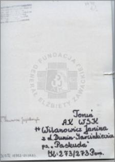 Wilanowicz Janina