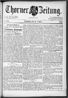 Thorner Zeitung 1890, Nr. 254