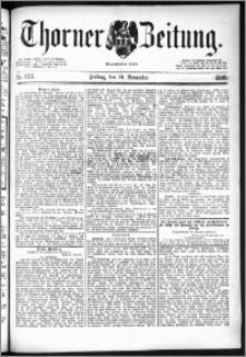Thorner Zeitung 1890, Nr. 273