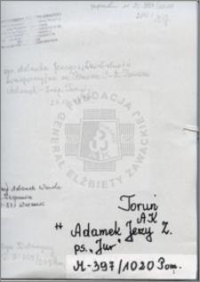 Adamek Jerzy