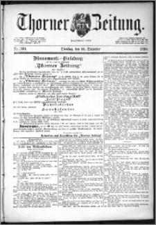 Thorner Zeitung 1890, Nr. 300 + Beilage