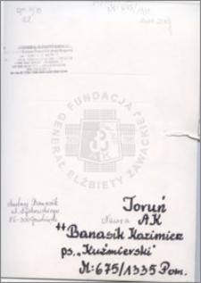 Banasik Kazimierz