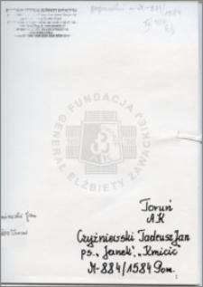 Czyżniewski Tadeusz Jan