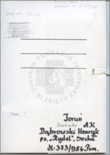 Dąbrowski Henryk