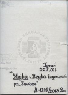 Hejka Heyka Eugeniusz