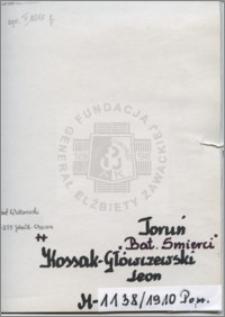 Kossak Główczewski Leon