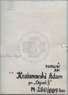 Kozianowski Adam