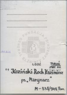 Koziński Roch Kazimierz