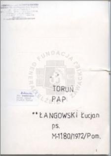 Łangowski Łucjan