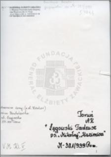 Łęgowski Tadeusz