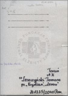 Leszczyński Tomasz