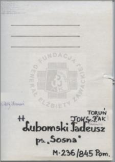 Lubomski Tadeusz
