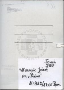 Nowak Józef