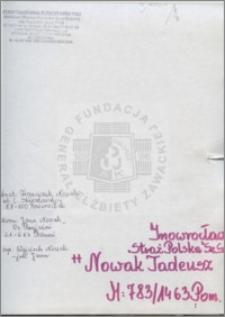 Nowak Tadeusz