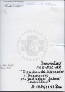 Oczachowski Aleksander