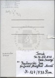Pawłowski Jan
