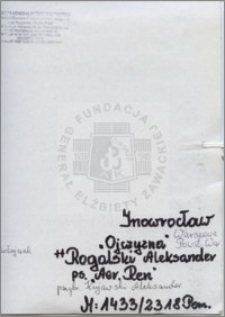 Rogalski Aleksander