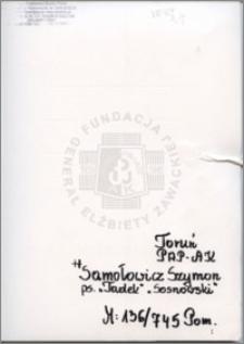 Samolowicz Szymon