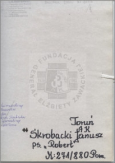 Skrobacki Janusz