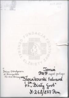 Słowikowski Edward
