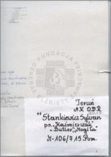 Stankiewicz Sylwan