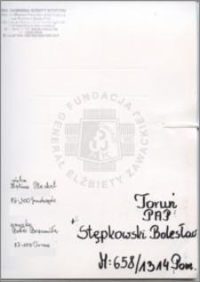 Stępkowski Bolesław