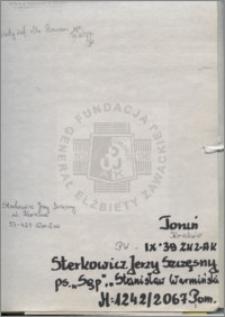 Sterkowicz Jerzy