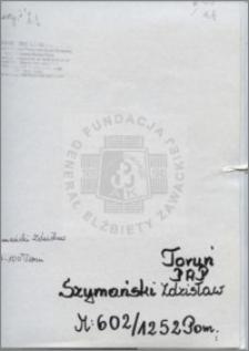 Szymański Zdzisław