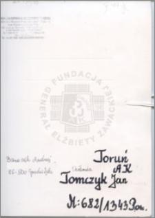 Tomczyk Jan