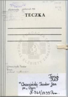 Wrzesiński Teodor