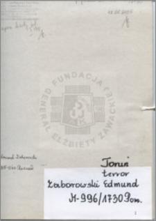 Zaborowski Edmund