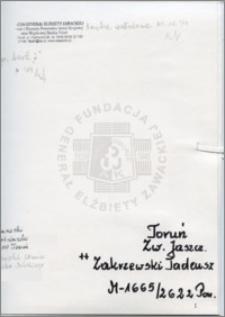 Zakrzewski Tadeusz
