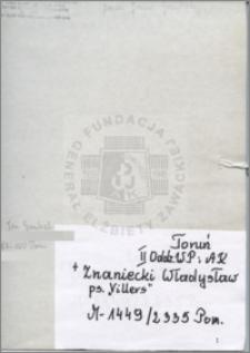 Znaniecki Władysław