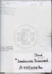 Zomkowski Franciszek