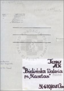 Bielińska Waleria