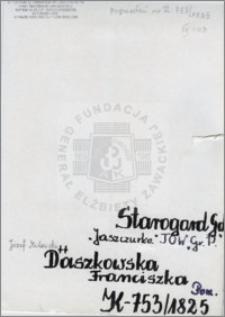Daszkowska Franciszka