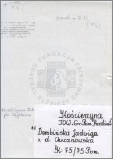 Dembińska Jadwiga