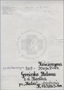 Greinke Helena