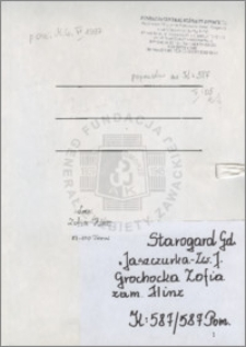Grochocka Zofia