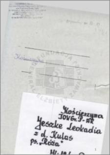 Jeszke Leokadia