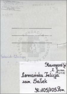 Lemańska Felicja