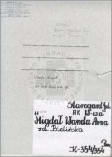 Migdał Wanda Anna