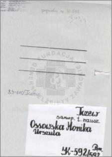 Ossowska Monika