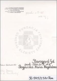 Rogowska Maria Magdalena