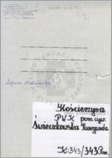 Świeczkowska Kunegunda